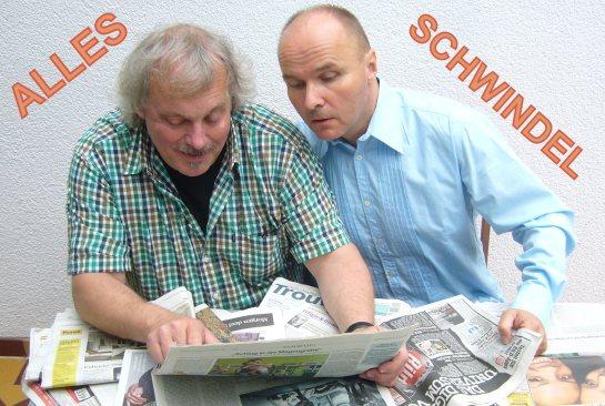 FOTO Alles Schwindel  Benno Berlin und Gerrit Loets